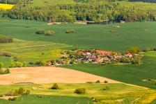 Luftaufnahme Ortsteil Rügeband